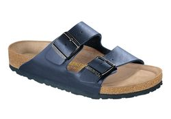 Birkenstock Arizona, SFB, Normal läst - Blå (Unisex)
