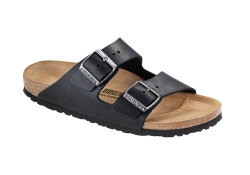 Birkenstock Arizona. Normal läst - Svart (Unisex)