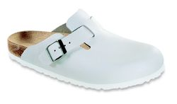 Birkenstock Boston, Normal läst - Vit (Unisex)
