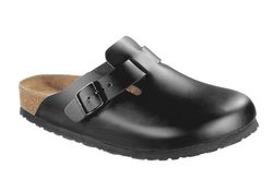 Birkenstock Boston. Mjuk. Normal läst - Svart (Unisex)