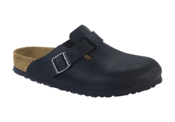 Birkenstock Boston SFB. Normal läst - Svart (Unisex)