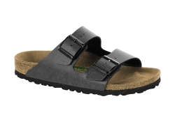 Birkenstock Arizona Vegan, Normal läst - Grå (Herr)