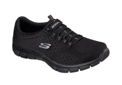 Skechers Womens Empire - Ocean View - Svart (Dam)