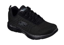 Skechers Womens Flex Appeal 2,0 - Svart (Dam)