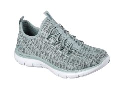 Skechers Womens Flex Appeal 2.0 - Grön (Dam)