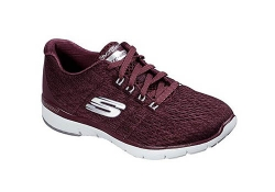 Skechers Womens FlexAppeal 3.0 - Röd (Dam)