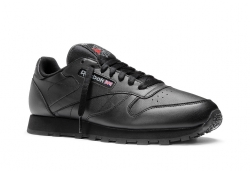 Reebok CL Leather - Svart (Herr)