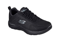 Skechers Mens Flex Advantage - Svart (Herr)
