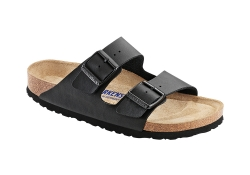 Birkenstock Arizona, SFB, Normal läst - Svart (Unisex)