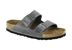Birkenstock Arizona SFB, Normal läst - Grå (Dam)