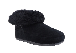 FitFlop Mukluk Shorty - Svart (Dam)