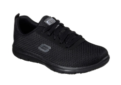 Skechers Womens Work Ghenter - Svart (Dam)