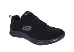 Skechers Womens Flex Appeal 2.0 - Svart (Dam)