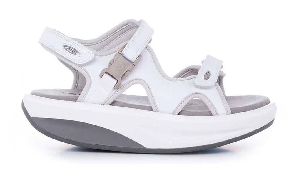 mbt skor sandaler, Billiga MBT Sandaler Herr Kisumu 2 Vit