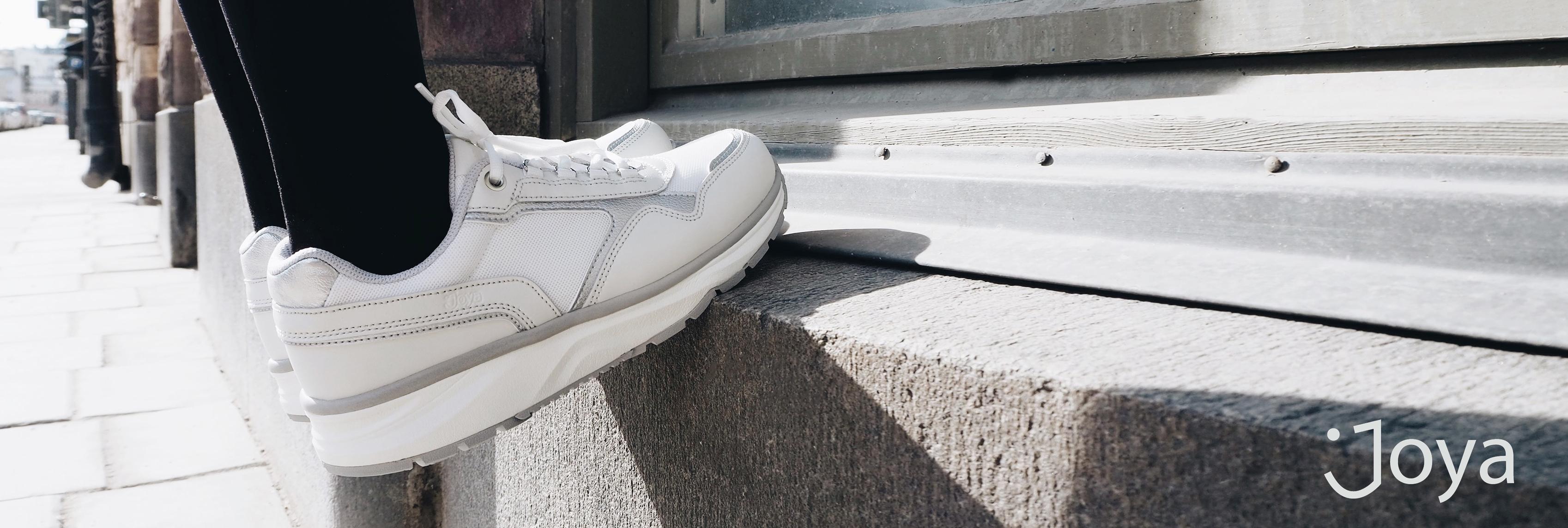 super popular 6bb73 6a3c9 Joya verkar för att genom sina mjuka skor, avlasta både rygg och leder. Med  sin innovation avlastar skorna leder och rygg och ger en suverän svikt.